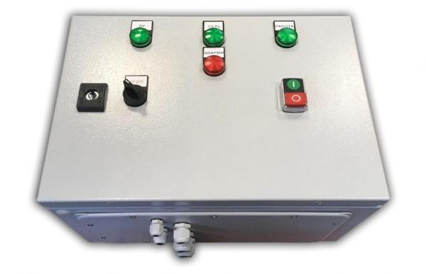 Шкаф управления асинхронным двигателем