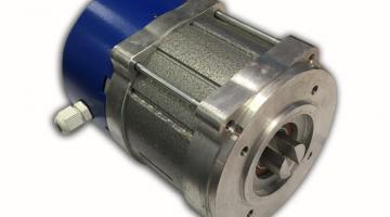 integrated synchronous electric motor